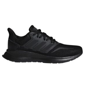 Adidas Runfalcon - Kids Running Shoes - Triple Black