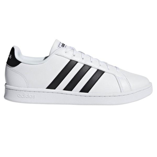 Adidas Grand Court - Mens Sneakers - Cloud White/Core Black