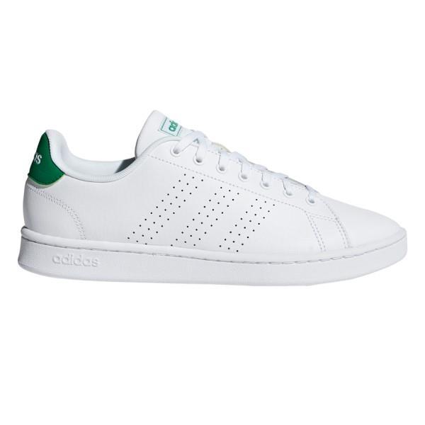 Adidas Advantage - Mens Sneakers - Footwear White/Green