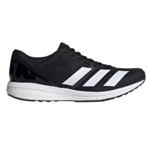 Adidas Adizero Boston 8 - Mens Running Shoes - Core Black/Footwear White/Grey