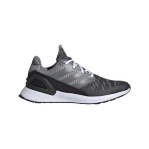 Adidas RapidaRun Knit - Kids Running Shoes - Carbon/Grey