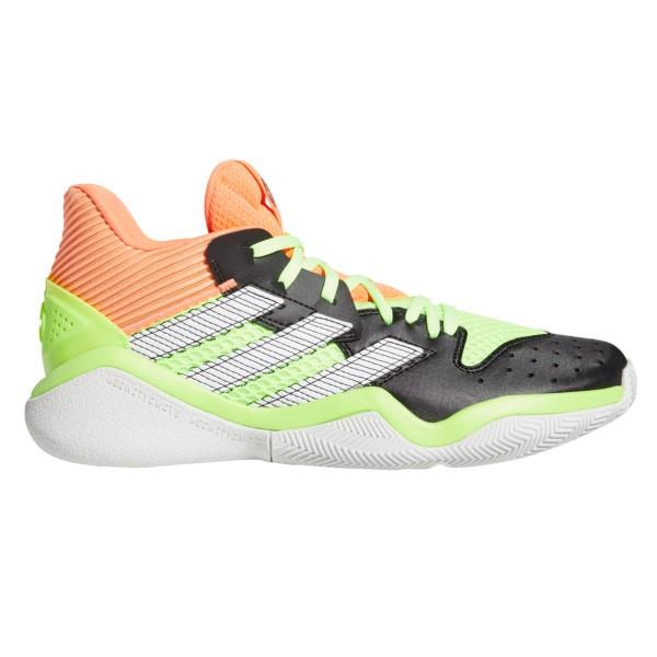 Adidas Harden Stepback - Mens Basketball Shoes - Core Black/Signal Coral/Dash Grey