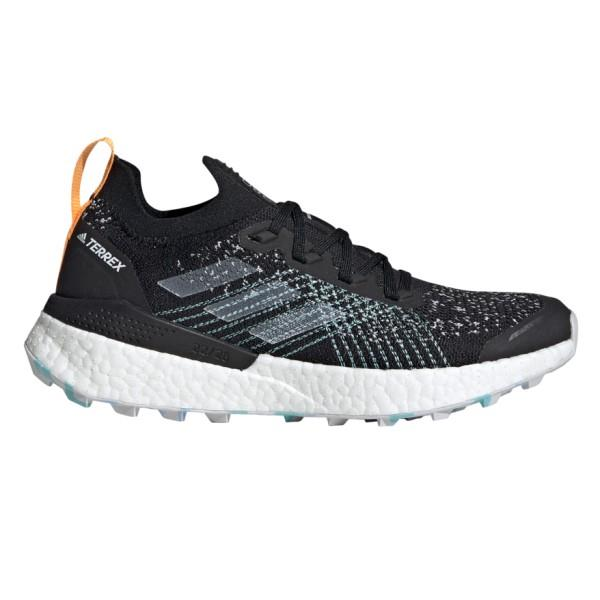 Adidas Terrex Two Ultra Parley - Womens Trail Running Shoes - Core Black/Dash Grey/Blue
