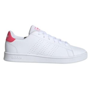 Adidas Advantage - Kids Sneakers - Cloud White/Real Pink