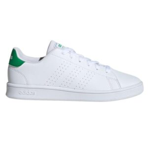 Adidas Advantage - Kids Sneakers - Footwear White/Green/Grey