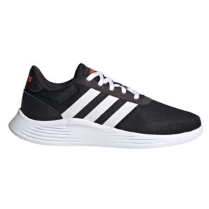 Adidas Lite Racer 2.0 - Kids Running Shoes - Core Black/Footwear White/Solar Red