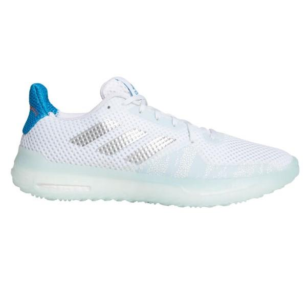 Adidas Fitboost Primeblue Trainer - Mens Training Shoes - Footwear White/Silver Metallic/Sky Tint
