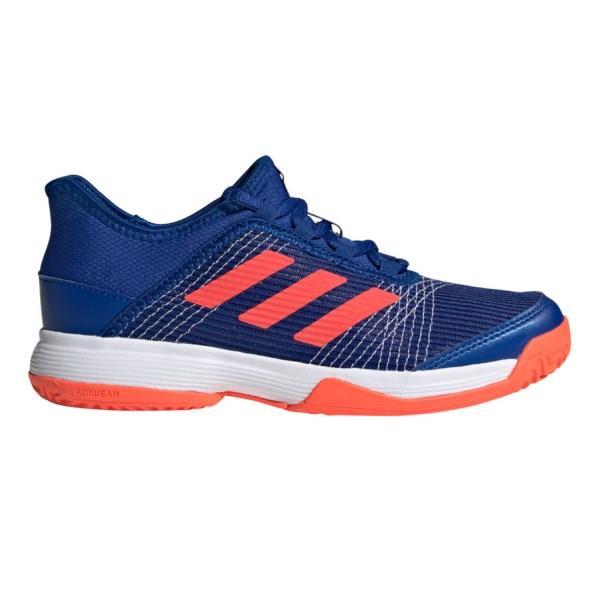 Adidas Adizero Club - Kids Tennis Shoes - Collegiate Royal/Solar Red/ Cloud White