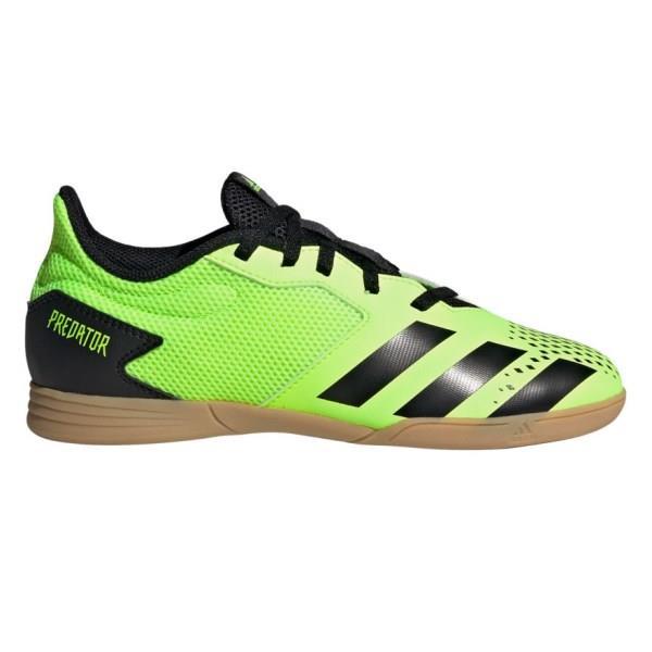 Adidas Predator 20.4 IN - Kids Indoor Soccer Shoes - Signal Green/Core Black/Gum