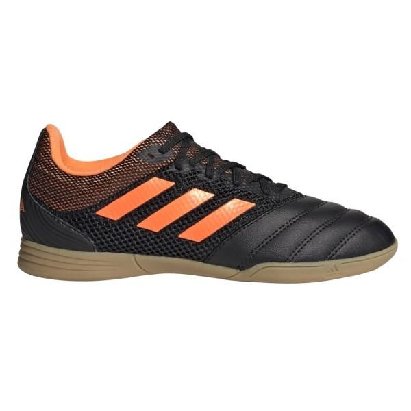 Adidas Copa 20.3 IN - Kids Indoor Soccer Shoes - Yellow/Signal Orange/Footwear White