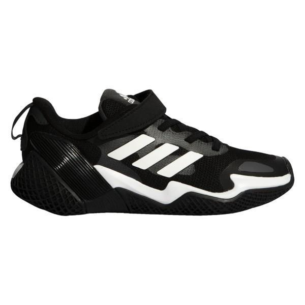 Adidas 4uture RNR EL - Kids Sneakers - Core Black/Footwear White/Solid Grey