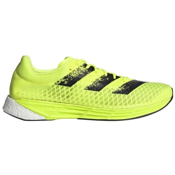 Adidas Adizero Pro Mens Running Shoes - Solar Yellow/Core Black/Footwear White