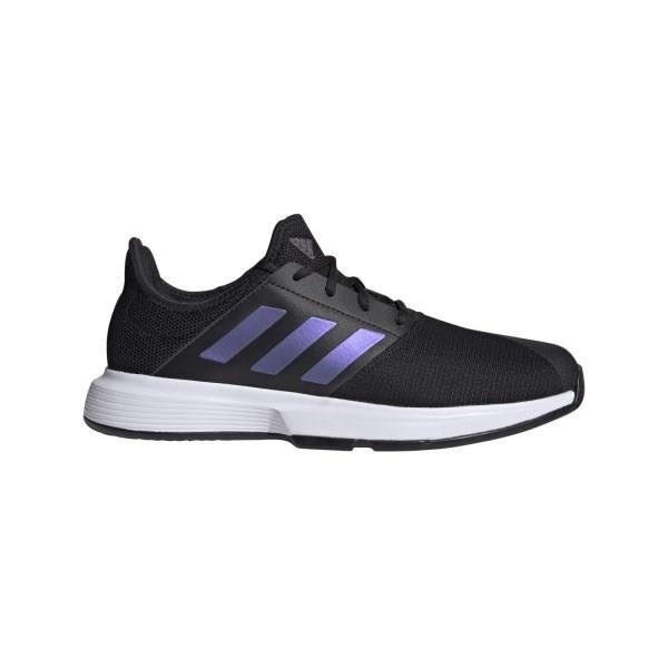 Adidas GameCourt - Mens Tennis Shoes - Core Black/Footwear White