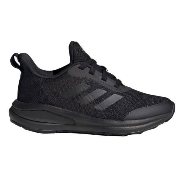 Adidas FortaRun Lace - Kids Running Shoes - Triple Core Black