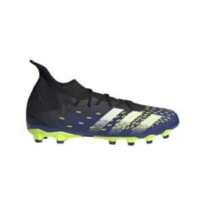 Adidas Predator Freak .3 FG - Mens Football Boots - Core Black/White/Solar Yellow