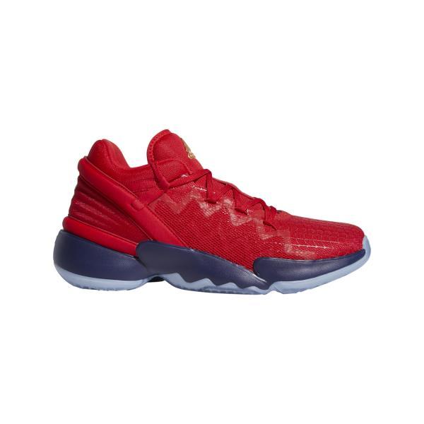 Adidas D.O.N Issue 2 GCA - Mens Basketball Shoe - Scarlet/Team Navy Blue/Gold Metalic