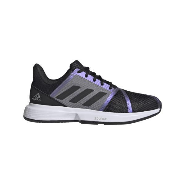 Adidas CourtJam Bounce - Mens Tennis Shoes - Core Black/Grey