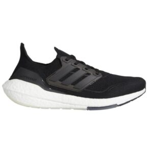 Adidas UltraBoost 21 - Mens Running Shoes - Black/Grey Four