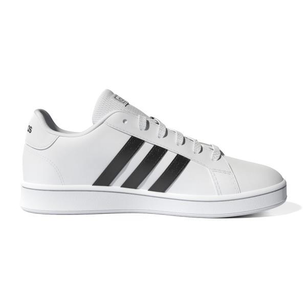Adidas Grand Court - Kids Sneakers - White/Black