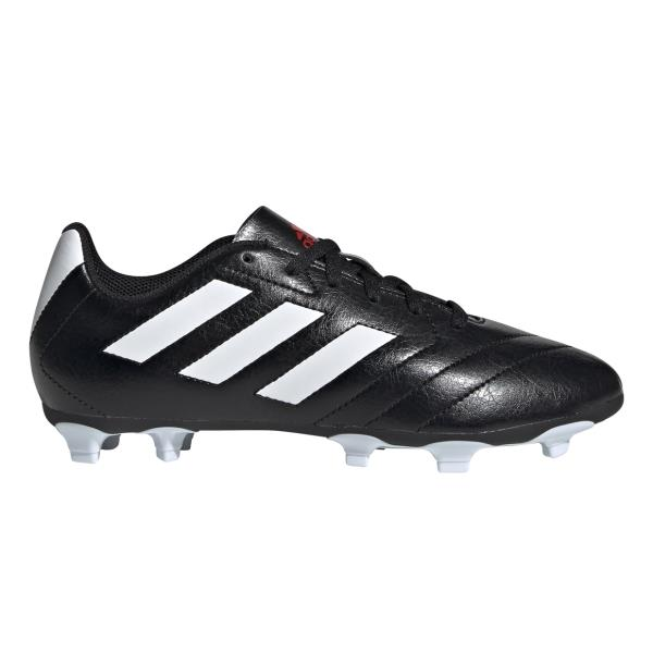 Adidas Goletto VII - Kids Football Boots - Core Black/Footwear White/Red