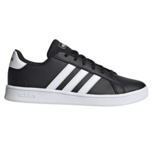 Adidas Grand Court - Kids Sneakers - Black/White