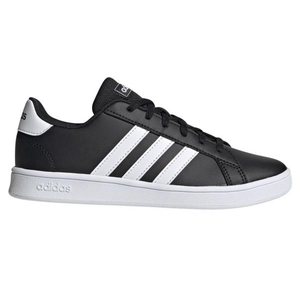 Adidas Grand Court - Kids Sneakers - Black/White