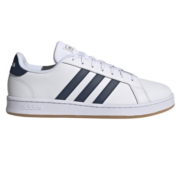 Adidas Grand Court - Mens Sneakers - Footwear White/Crew Navy/Gum