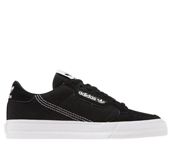 Adidas Mens Continental Vulc Black