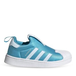 Adidas Kids Superstar 360 Signal Cyan