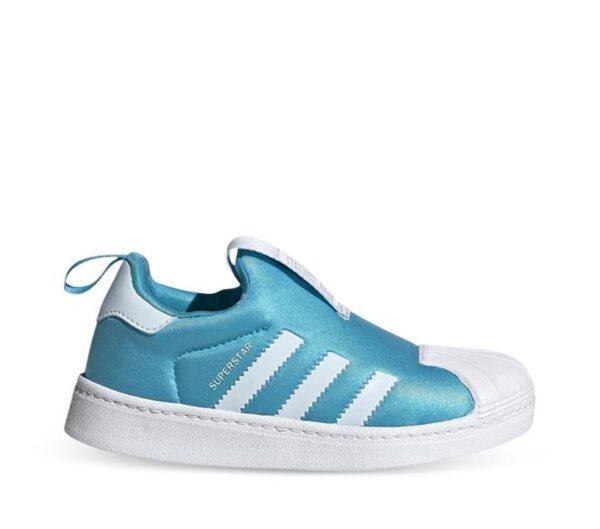 Adidas Kids Superstar 360 Signal Cyan