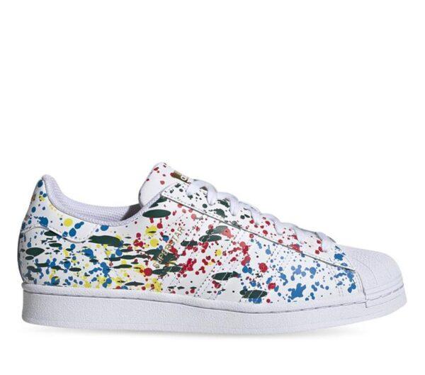 Adidas Superstar Splatter Ftwr White
