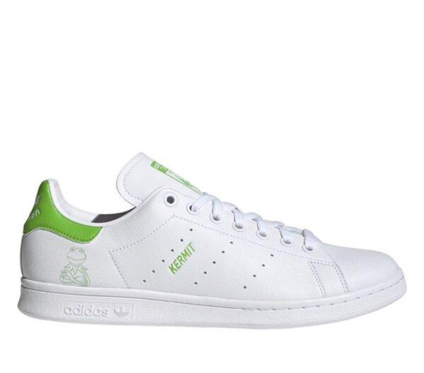 Adidas Kermit The Frog Stan Smith Vegan Ftwr White