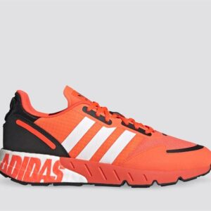 Adidas Mens ZX 1K Boost Solar Red