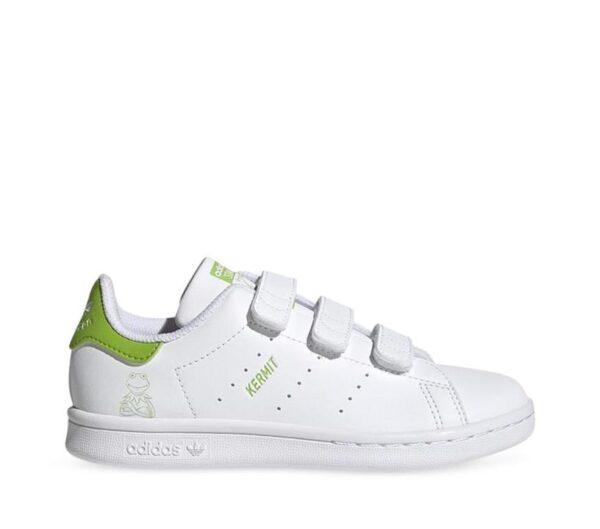 Adidas Kids Stan Smith Kermit Sustainable Ftwr White