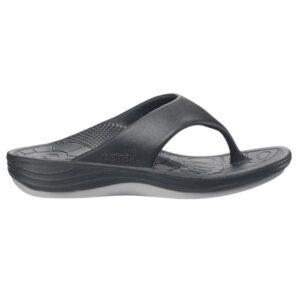 Aetrex Lynco Flips - Womens Thongs - Black