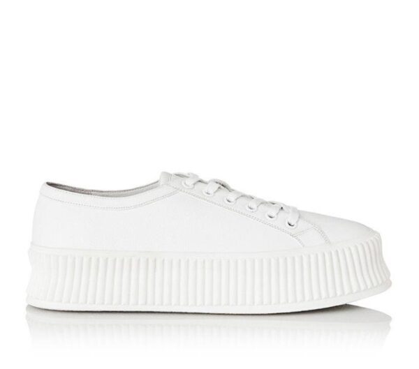 Alias Mae Womens Adelaide Sneaker White Nappa Leather