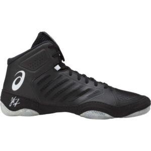 Asics JB Elite III - Mens Boxing/Wrestling/Martial Arts Shoes - Black/White
