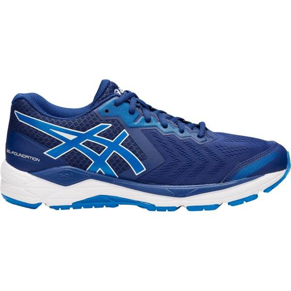 Asics Gel Foundation 13 - Mens Running Shoes - Blue Print/Race Blue