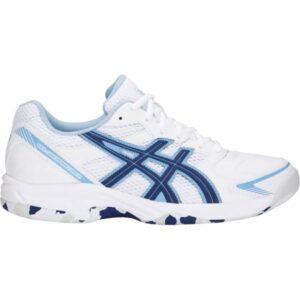 Asics Gel Shepparton 2 - Womens Lawn Bowls Shoes - White/Blue Print