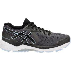 Asics Gel Foundation 13 - Womens Running Shoes - Dark Grey/Black