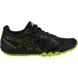 Asics Gel Firestorm 3 - Kids Racing Waffles - Black/Neon Lime