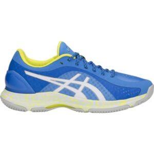 Asics Netburner Super FF - Womens Netball Shoes - Blue Coast/White