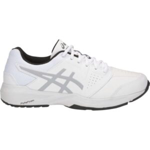 Asics Gel Quest FF GS - Kids Cross Training Shoes - White/Mid Grey