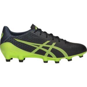 Asics Menace - Mens Football Boots - Black/Hazard Green