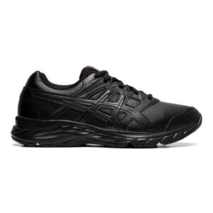 Asics Gel Contend 5 SL GS - Kids Cross Training Shoes - Black/Graphite Grey