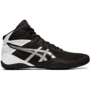 Asics Matflex 6 - Unisex Boxing/Wrestling/Martial Arts Shoes - Black/Silver