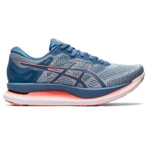 Asics GlideRide - Womens Running Shoes - Polar Shade/Grey Floss/White