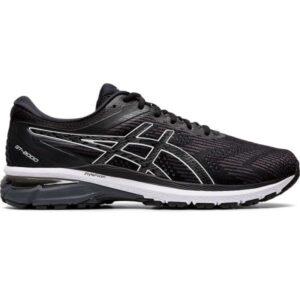 Asics GT-2000 8 - Mens Running Shoes - Black/White