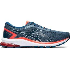 Asics GT-1000 9 - Mens Running Shoes - Grey Floss/Mako Blue