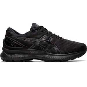 Asics Gel Nimbus 22 - Mens Running Shoes - Triple Black